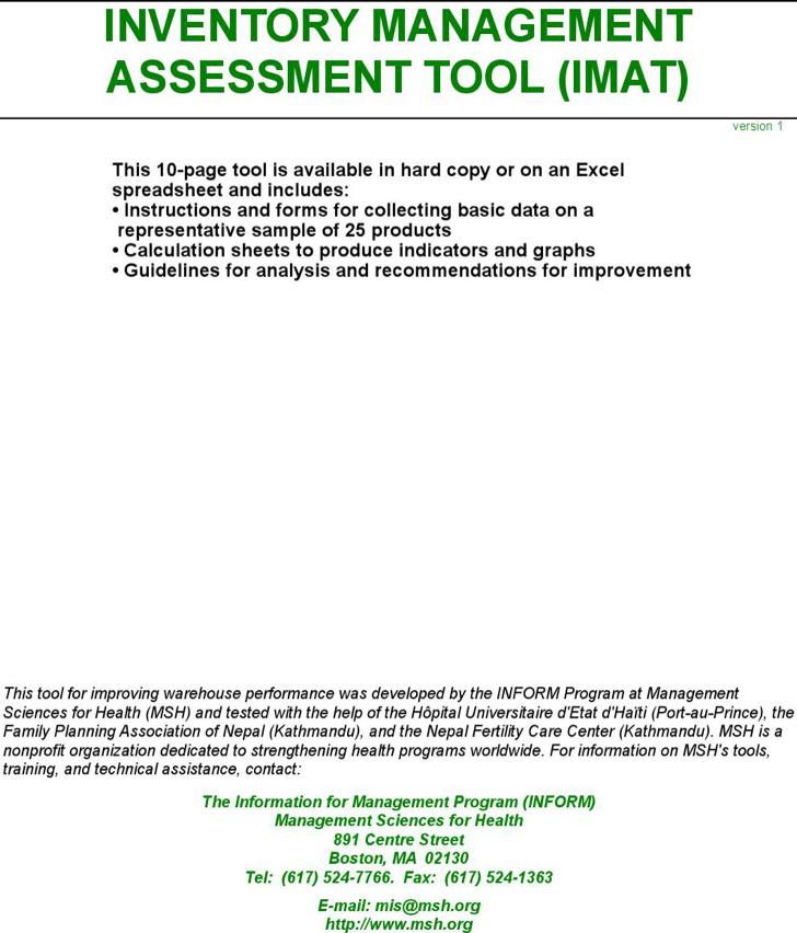 Inventory Management Excel1