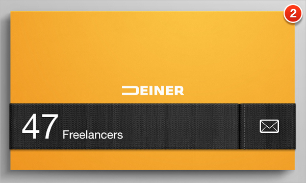 IT Slider Business Card Template