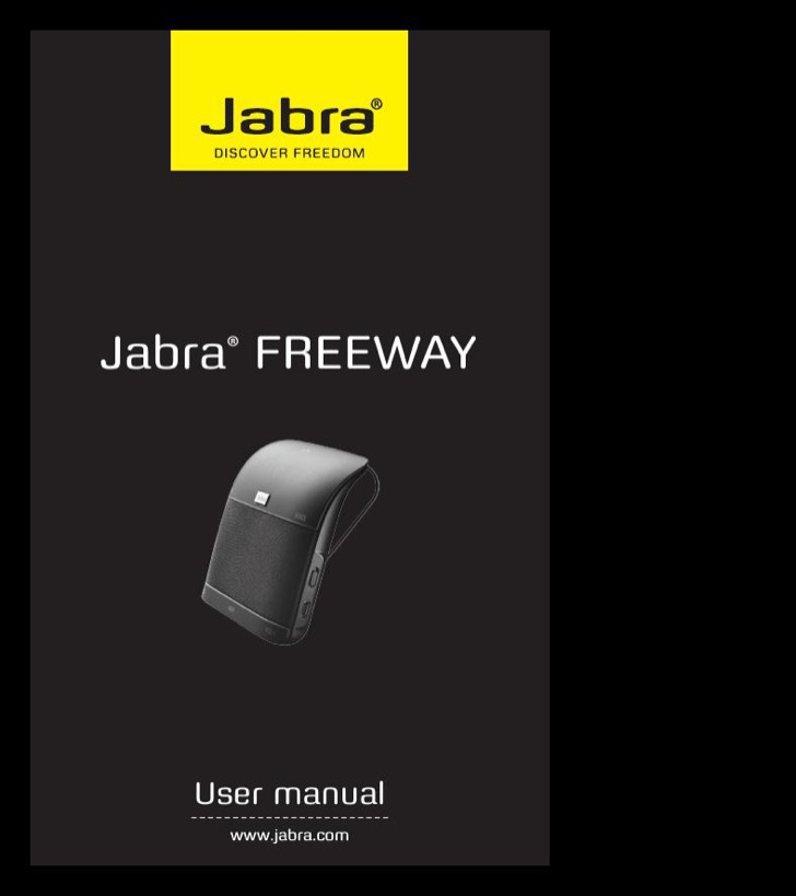 Jabra User's Manual Sample