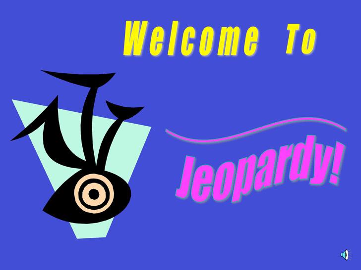 Jeopardy Template 1