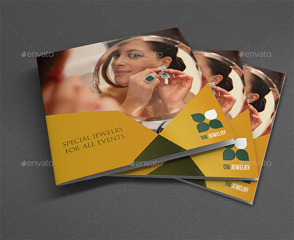 Jewelry and Accessories Catalog Brochure Bundle