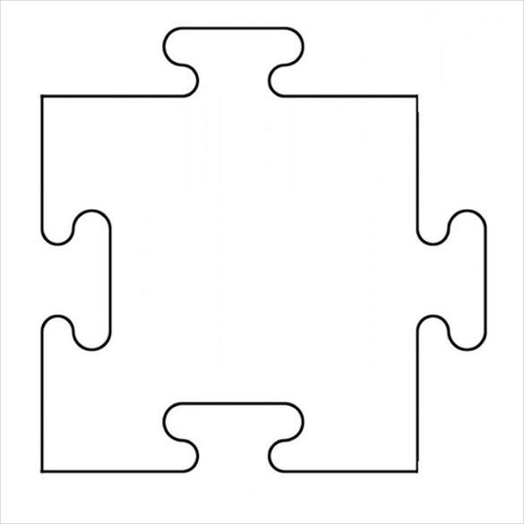 Jigsaw Puzzles Template