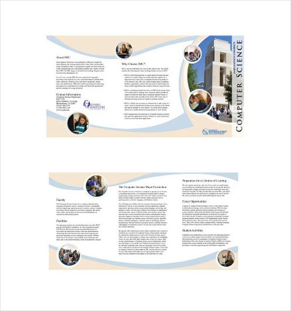 JMU Computer Science Brochure