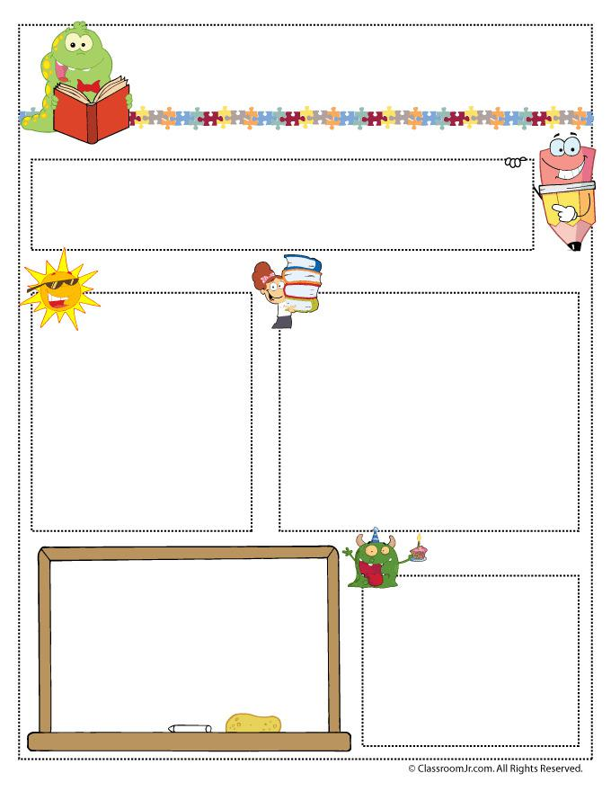 July Newsletter Template