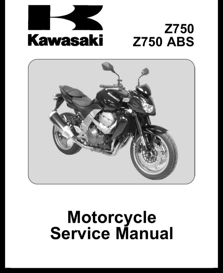 Kawasaki Service Manual Sample