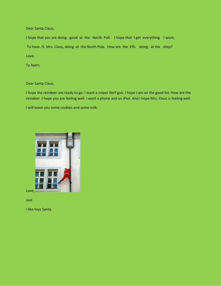 letter from santa template pdf