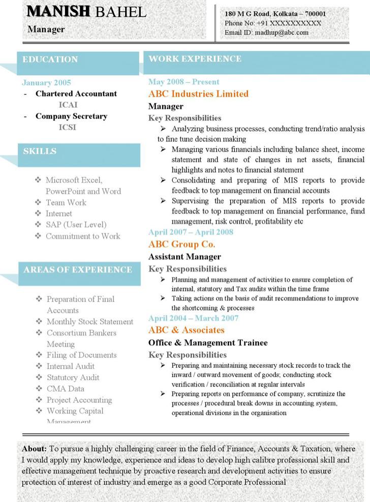 31  best resume formats free download