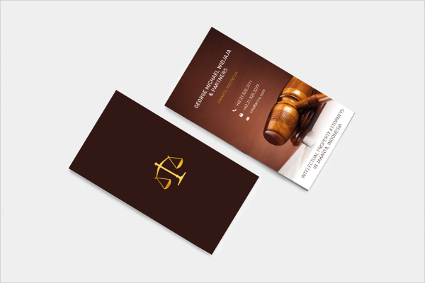 Lawyer Professional Business Card