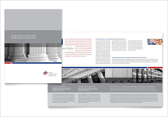 Legal & Government Services Brochure Template