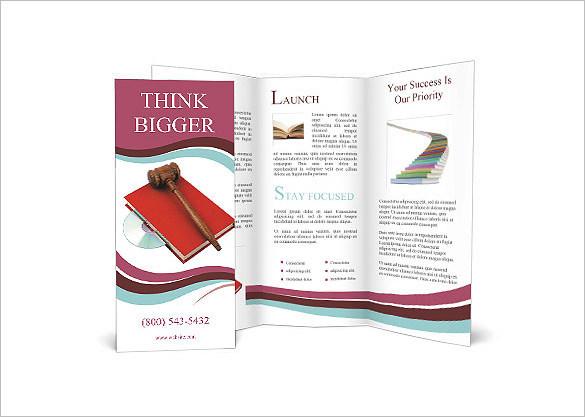 Legal Brochure Tempalte