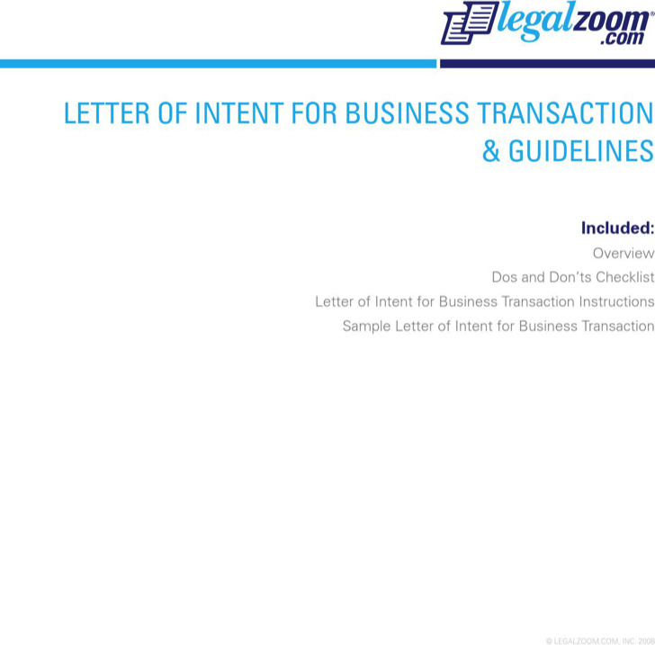 Letter Of Intent For Business Closure