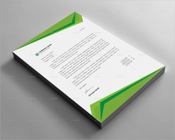 Letterhead Design Example