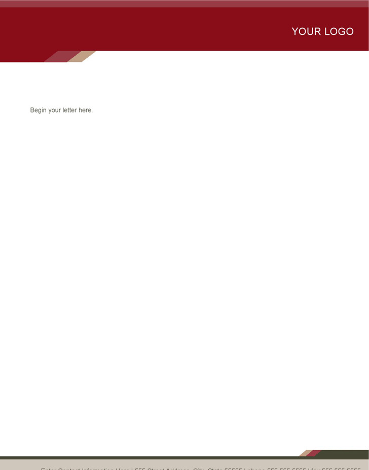 Letterhead (Health Stylish Design)