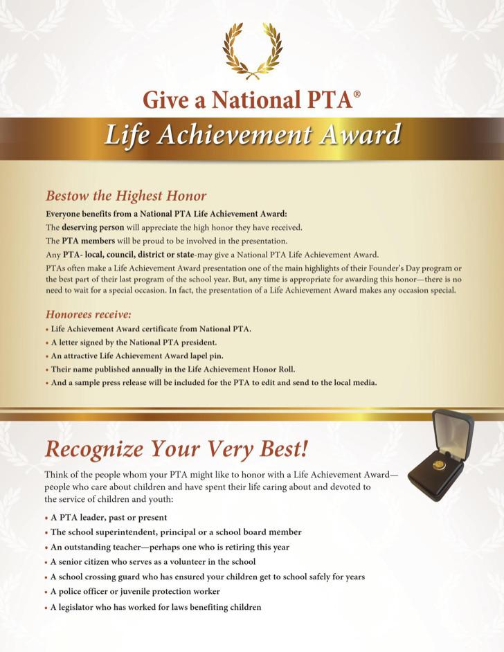 Life Achievement Award