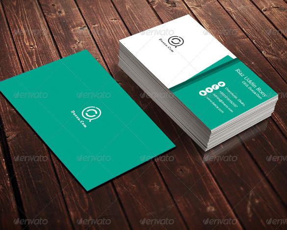 Light Green Business Card Download
