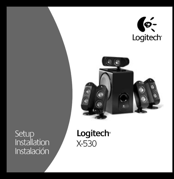 Logitech User's Manual Sample