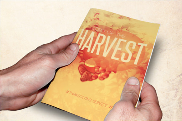 Lord of the Harvest Church PSD Brochure