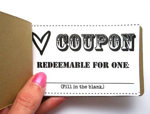 Love Coupon Book Instant Download