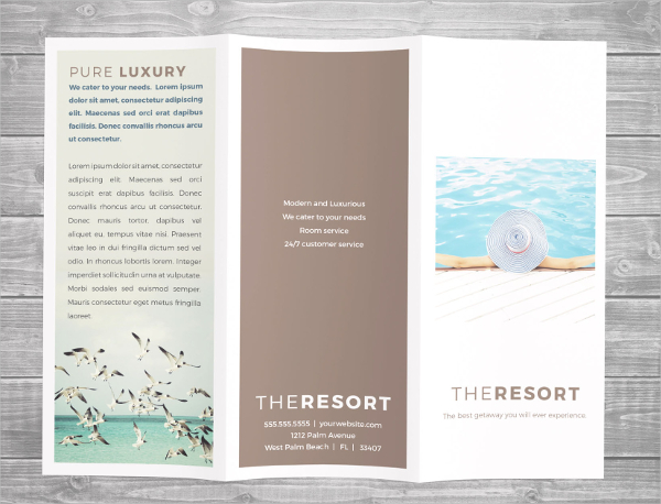 Luxury Resort Brochure