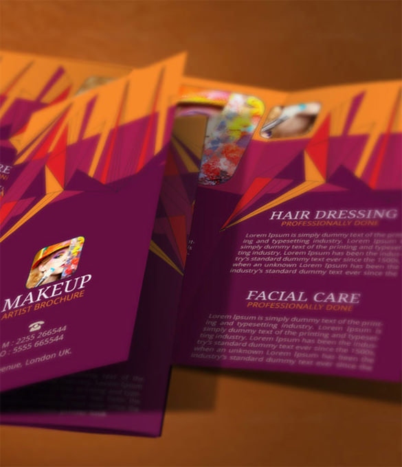 Makeup Brochure Modern Design Template