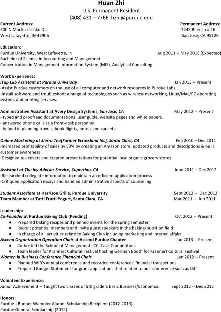 Management Proofreader Resume