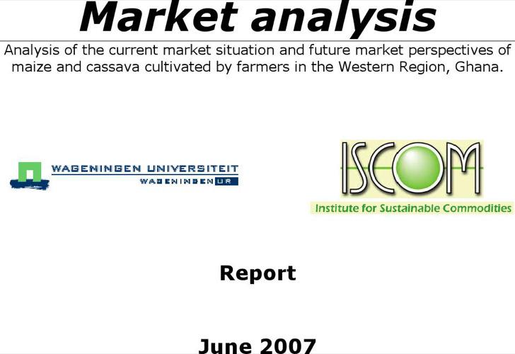 Market Analysistemplate