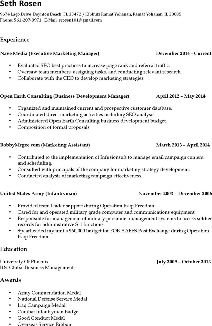 Marketing Campaign Analyst Resume Free Pdf