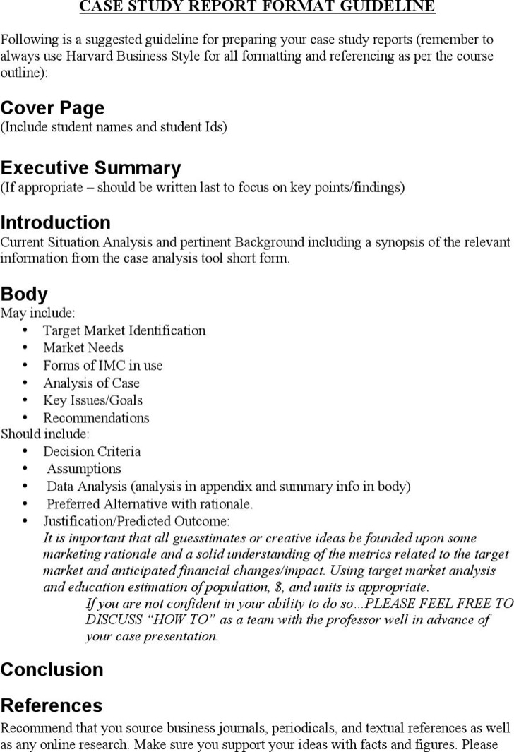 8 marketing case study template free download marketing case study report format guideline maxwellsz