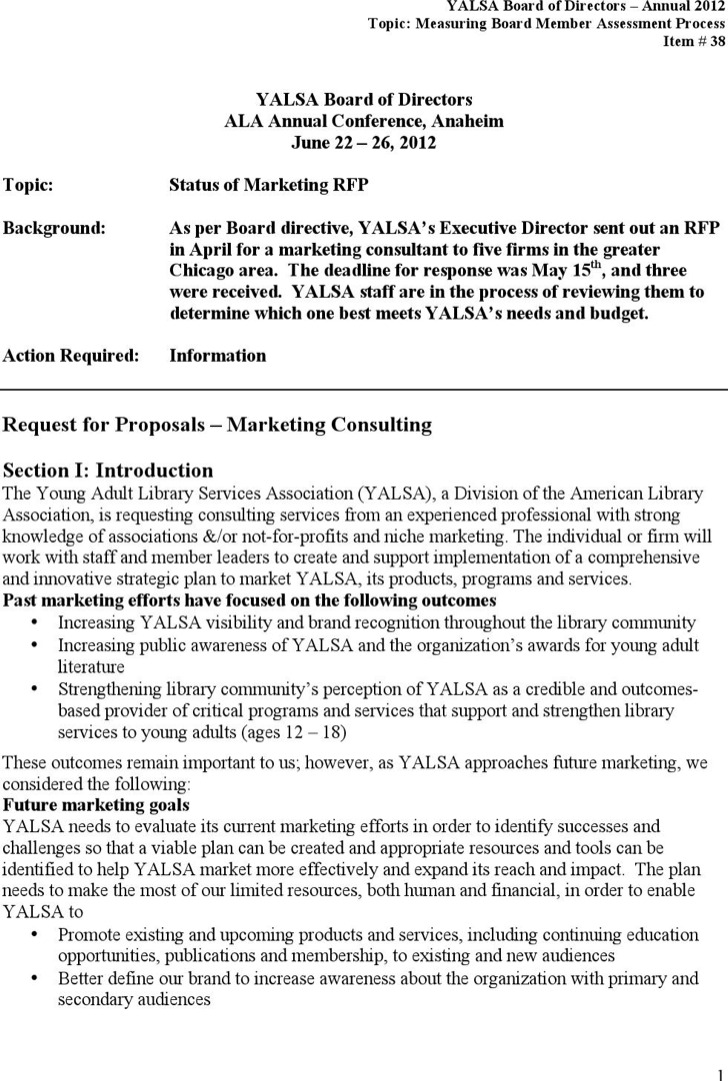 Marketing Consultant Proposal Pdf