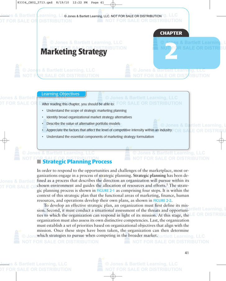 Marketing Strategy Template Download 1