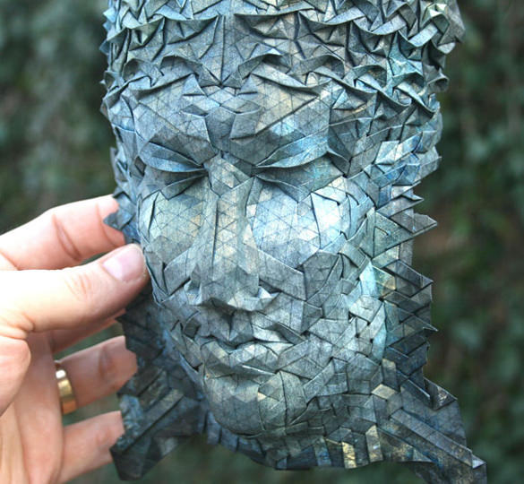 Mask Paper Art Design