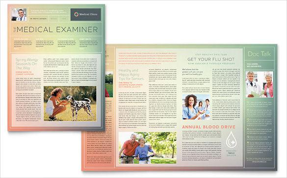 Medical Clinic Newsletter Template