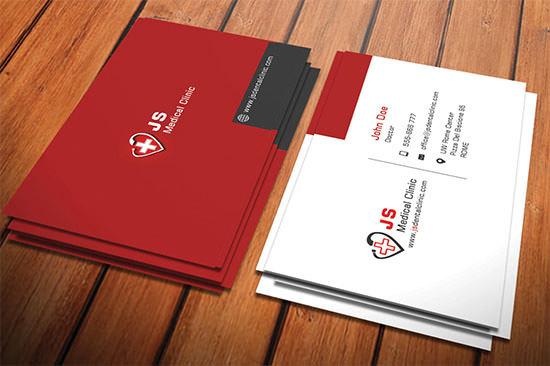 Medical Dentist Business Card