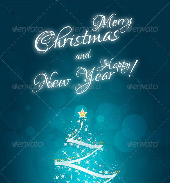Mery Christmas & New Year Card Template