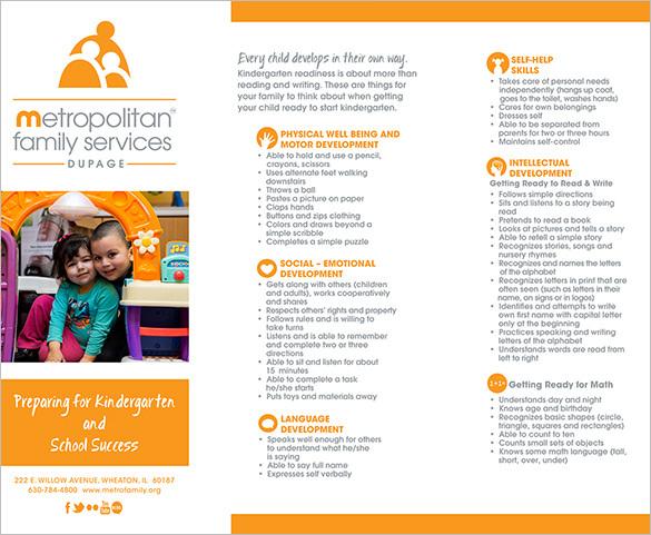 MFS DuPage Kindergarten Brochure