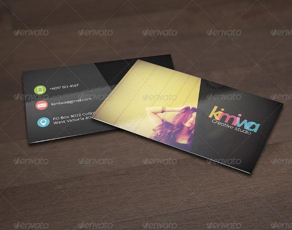 Minimal Cool Business Card JPG Download