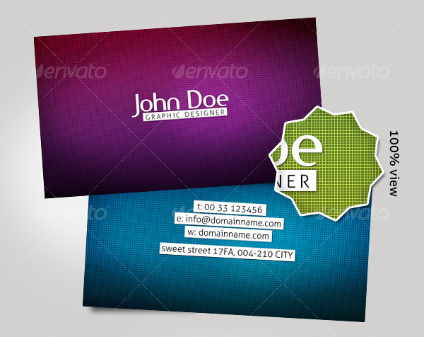Modern & Magnetic Business Card