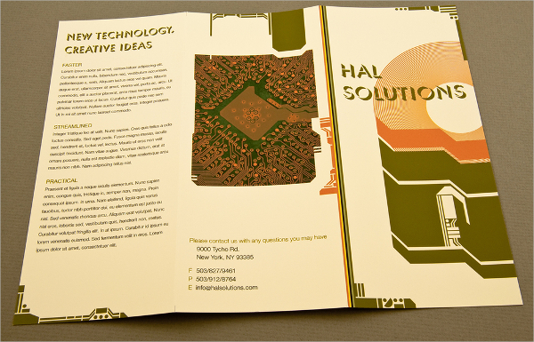 Modern Computer Repair Brochure Template
