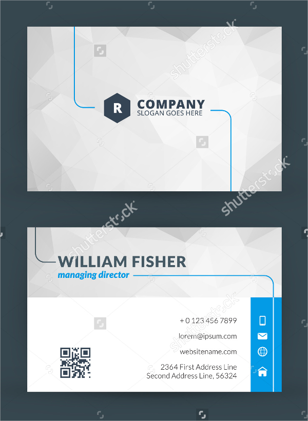 Modern Creative and Clean IT Business Card Template