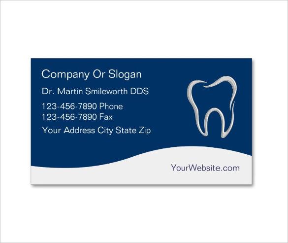 Modern Dentist Business Card