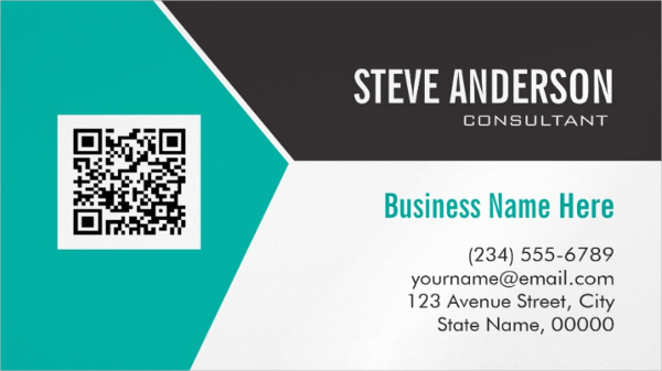 Modern Magnetic Business Card