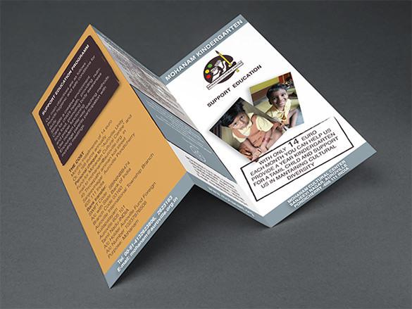 Mohanam Kindergarten Brochure Template