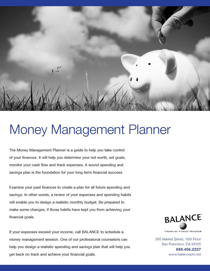 Money Management Spreadsheet