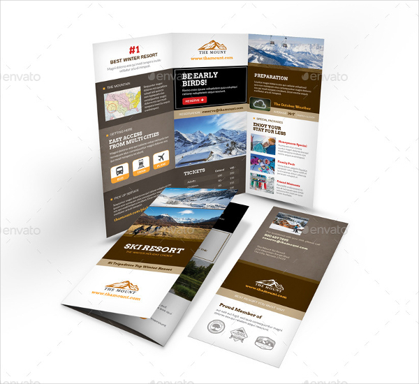 Mountain Resort Brochure