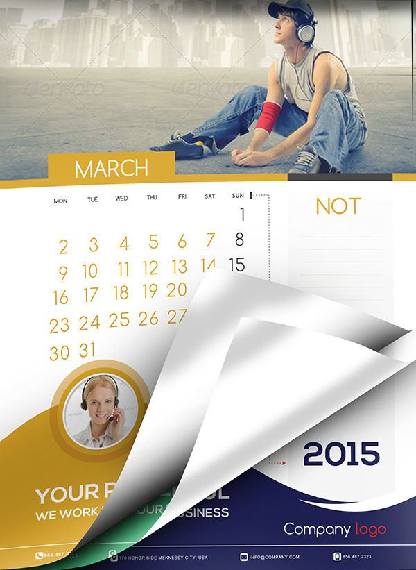 Multiple Purpose Event Calendar Template