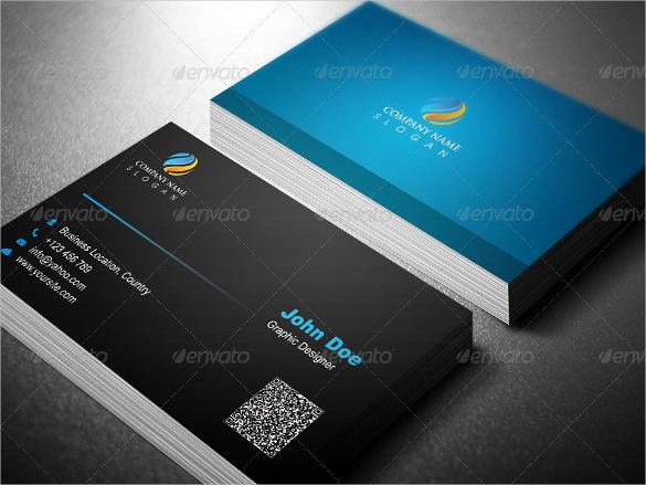 Multipurpose Business Card Template Design PSD Download