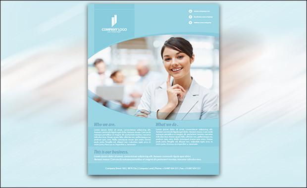 Multipurpose Business Flyer - Vector