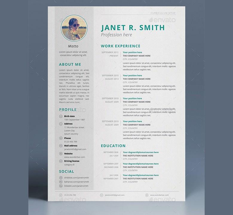 Multipurpose CV Template