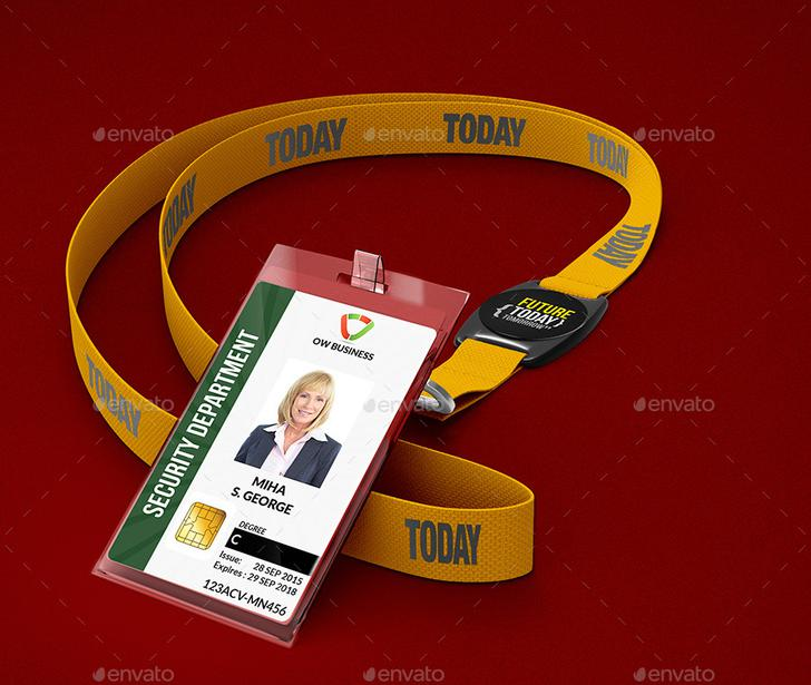 Multipurpose ID Card PSD Template