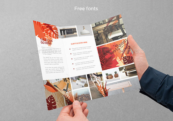Nature Fashion Design Trifold